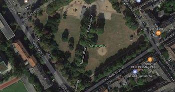 Google-Map: Frankenplatz