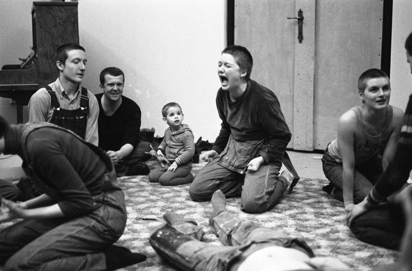 Aktionsanalytische Organisation (AAO) (Foto: 1977, Günter Zint via VintageMedia)