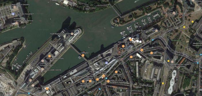 Google-Map: Medienhafen