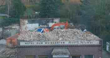 Das war das Hotel Zum Weingarten mit dem Restaurant Nickel