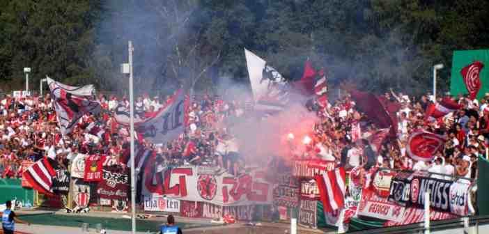 Koblenz vs F95: Feiner Mob im Gästeblock