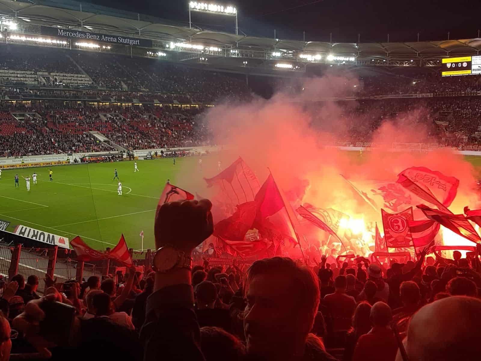 Stuttgart vs F95: Hallo, liebes Neackarstadion