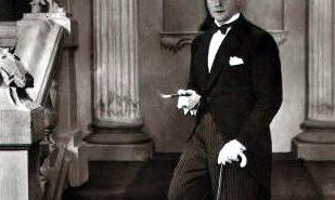 Harry Piel als Dandy auf dem berühmten Foto von Alexander Binder