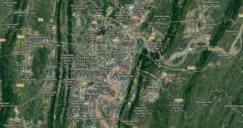 Google-Map: Chongqing