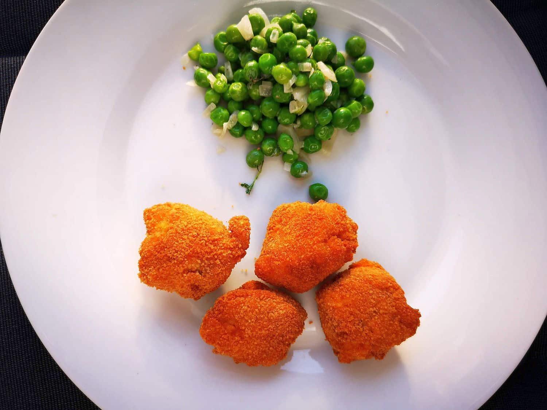 RdW: Hühnchenbrocken, paniert