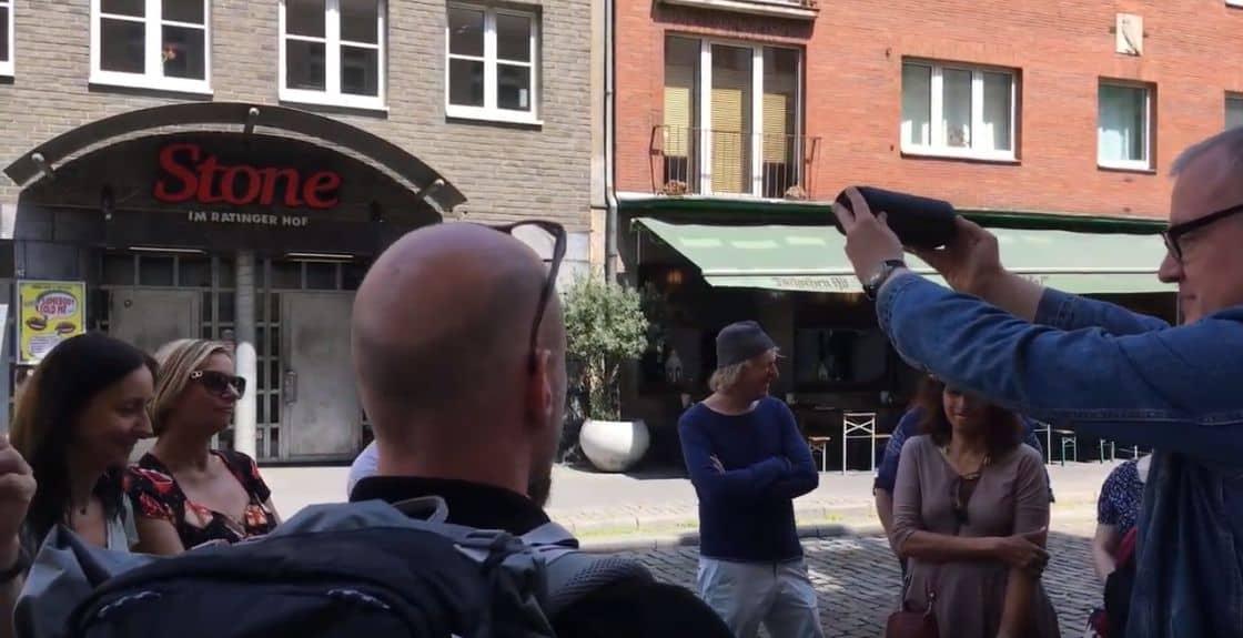 Sound of Düsseldorf: Sven-Andre Dreyer und Michael Wenzel zeigen die Plätze der Musik