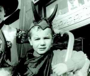 Schon immer ein freches Teufelchen - Jaques Tilly beim Rosenmontagszug 1968