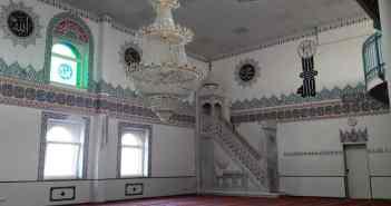 Gebetsraum der Merkez camii