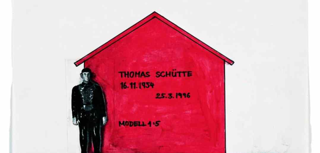 Thomas Schütte und das Wartehäuschen als Grabmal