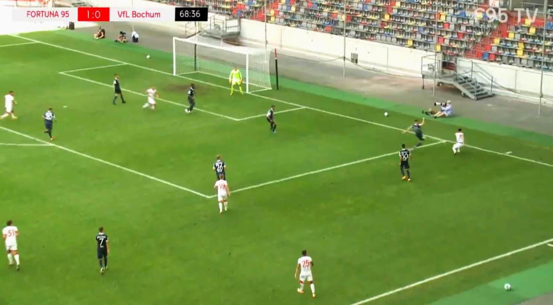 Testspiel Nr. 2: F95 vs Bochum 1:0