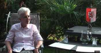 Marie-Agnes Strack-Zimmermann in einem Gefälligkeitsinterview (Screenshot)