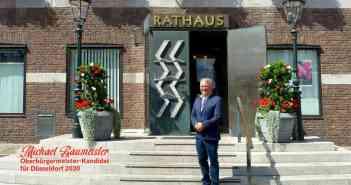 OB-Wahl 2020: Michael Baumeister, der einzige unabhängige Kandidat