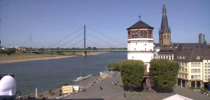 Diese städtische Webcam zeigt das Treiben auf dem Burgplatz (Screenshot)