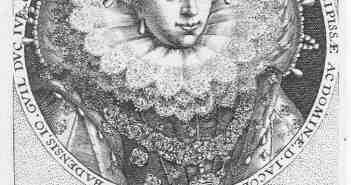 Jakobe von Baden -porträtiert nach ihrem Tod