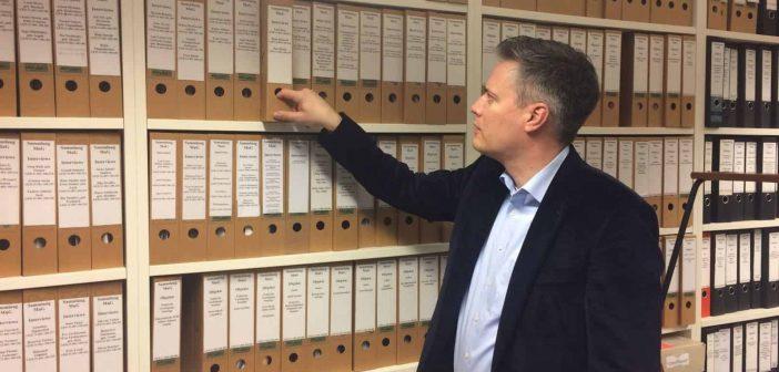 Weltweit beachtet: Das Archiv der Mahn- und Gedenkstätte (Foto: Buck)