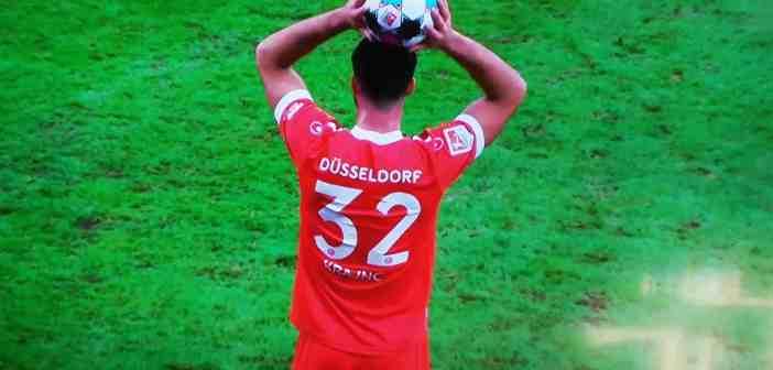 Pauli vs F95: Luka Krajnc, eine solide Leistung (Screenshot)