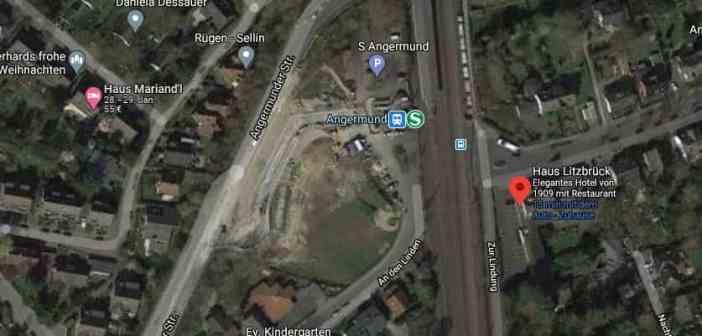 Haus Litzbrück - die Lage (Screenshot: Google Maps)