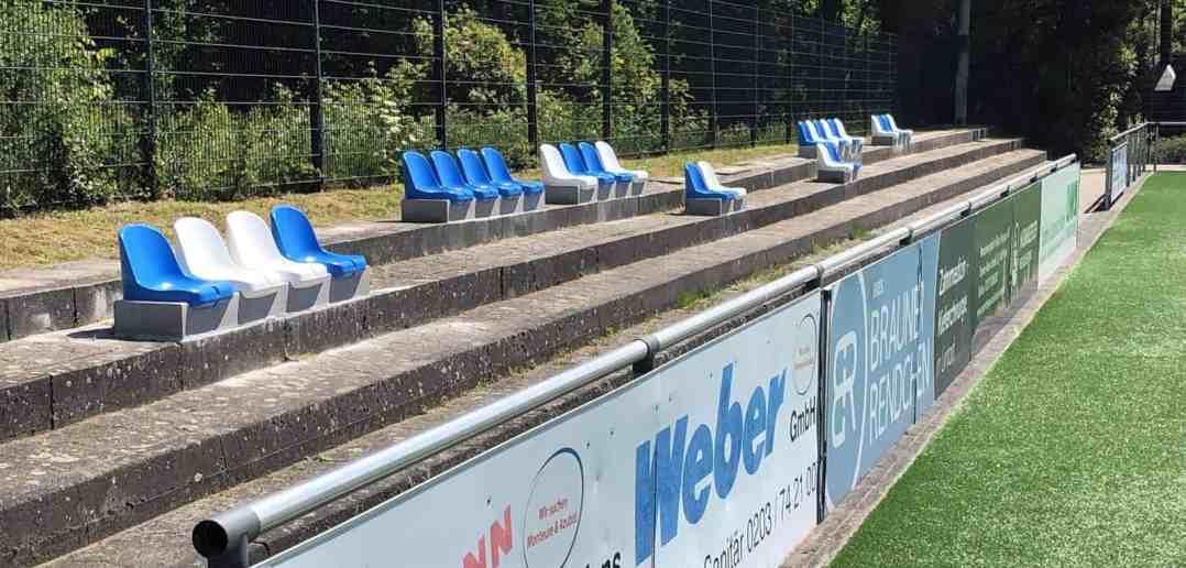 So sehen die neuen Sitzschalen beim TV Angermund aus (Foto: TVA)