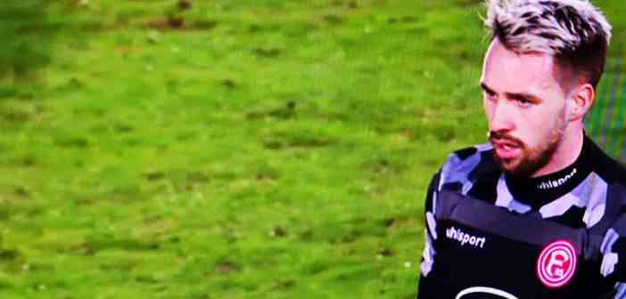 Würzburg vs F95: Toni Pledl hätte der Held werden können... (Screenshot Sky)