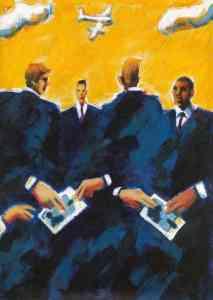 Die Korruption (Ill.: C. Tiemessen)