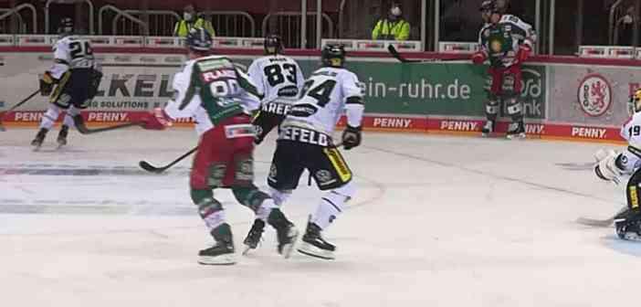 DEG vs Krefeld: Im richtigen Drittel (Foto: Smicek)