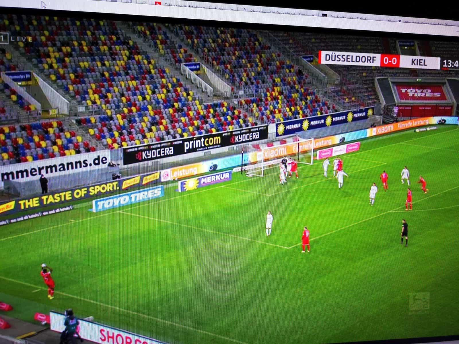 F95 vs Kiel: Danso - Einwürfe wie von Harald Katemann