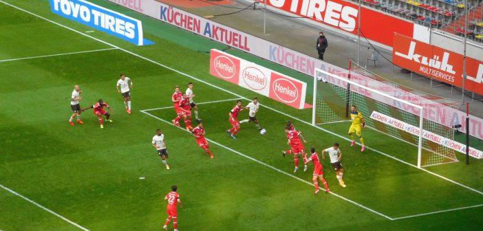 F95 vs St. Pauli: Ganz schön viel Pauli-Druck in den ersten 25 Minuten (Foto: TD)