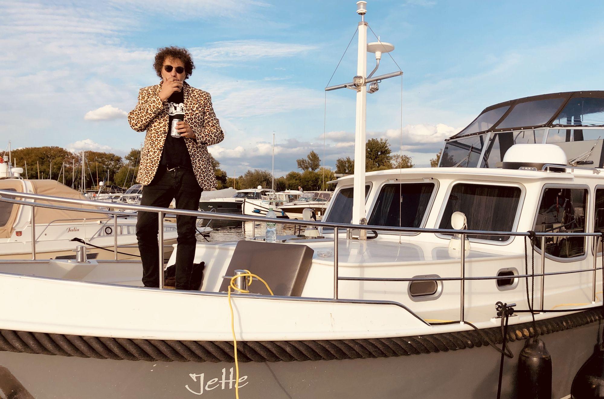 Salih Jamal: Kann man als Autor reich werden? Man kann aber wenigstens so tun... (Foto via Salih Jamal)
