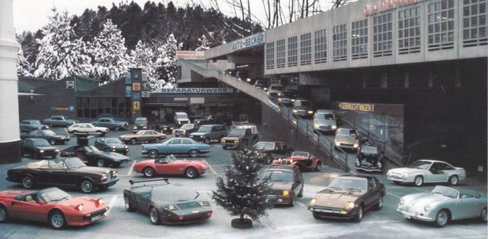 Irgendwann in den 80ern: Eine Auto-Becker-Weihnachtskarte (Foto: privat)
