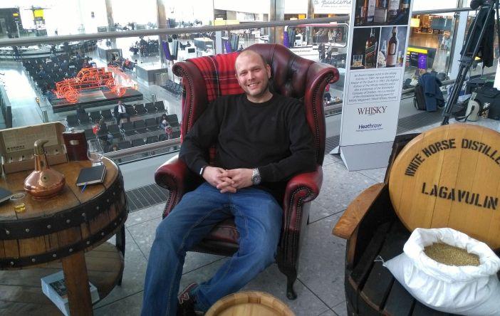 Tim, der Whisky-Liebhaber und -Kenner (Foto: privat)