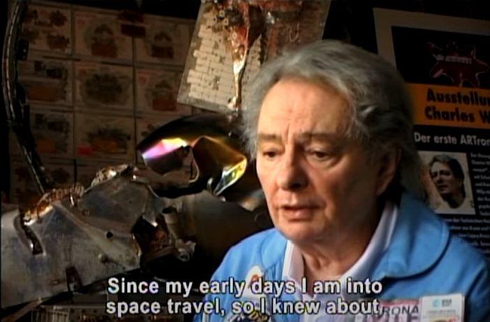 Wilp spricht über seine Leidenschaft für die Raumfahrt (Screenshot: YouTube - siehe unten)