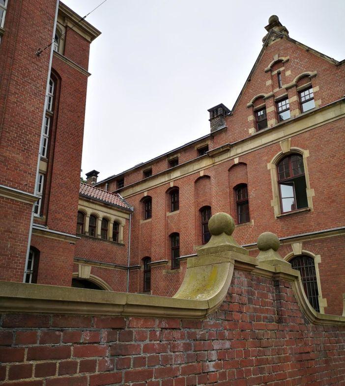 Blick über die Mauer an der Stockkampstraße (Foto: TD)