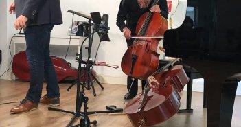 Miro Dobrowolny mit Liesmann kurz vor Programmstart (Foto: K. Buck für TD)