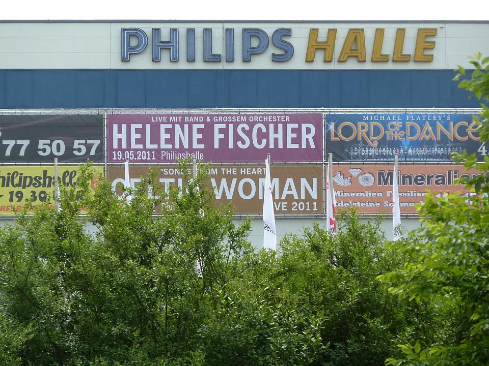 So sah es an der Philipshalle 2011 aus (Foto: TD)