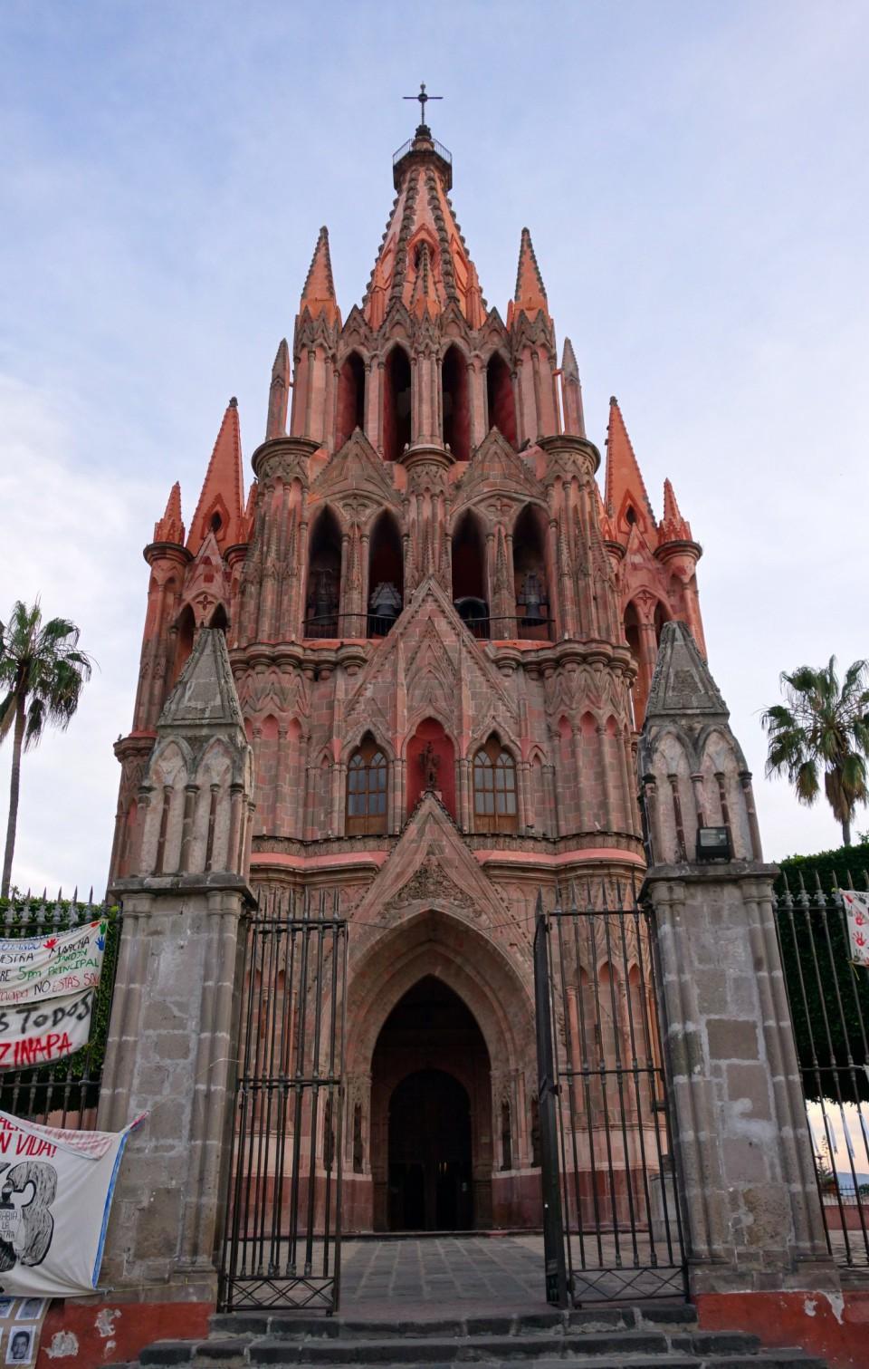 San Miguel de Allende - cathedral