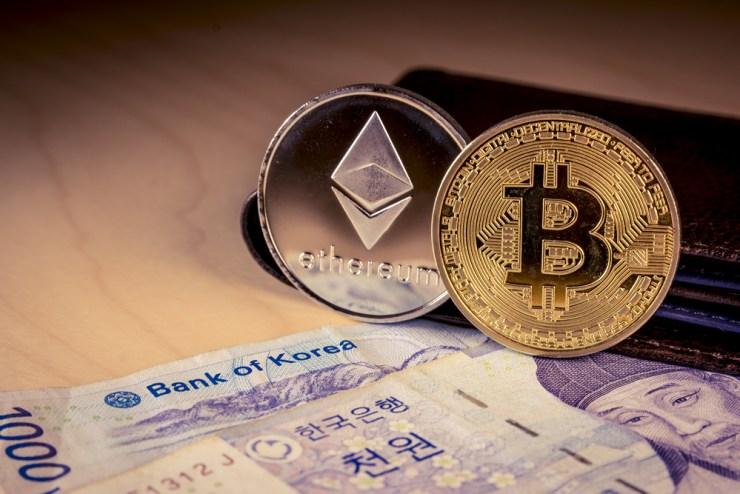 South Korea bitcoin Ethereum Cryptocurrency