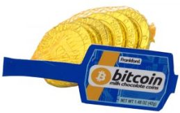 How About Chocolate Bitcoins? 6 for a Dollar