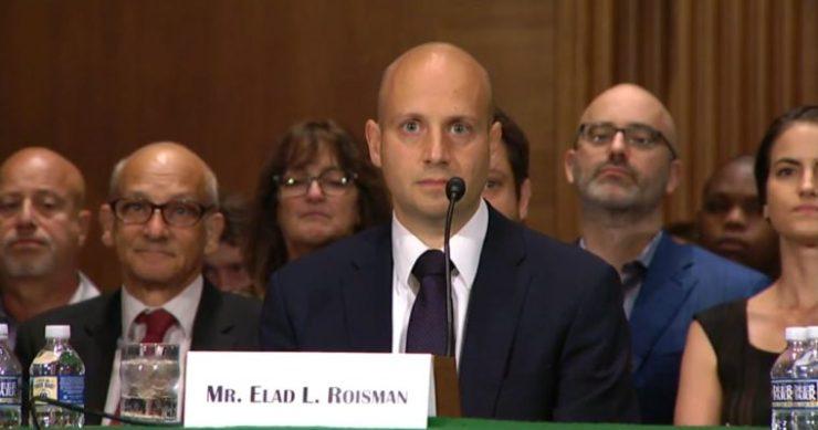 SEC Commissioner Elad Roisman, Bitcoin ETF