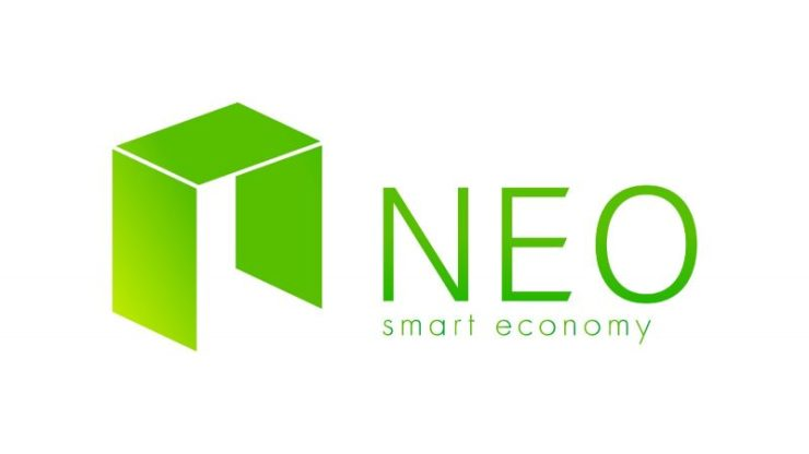 NEO Green Writing White Background