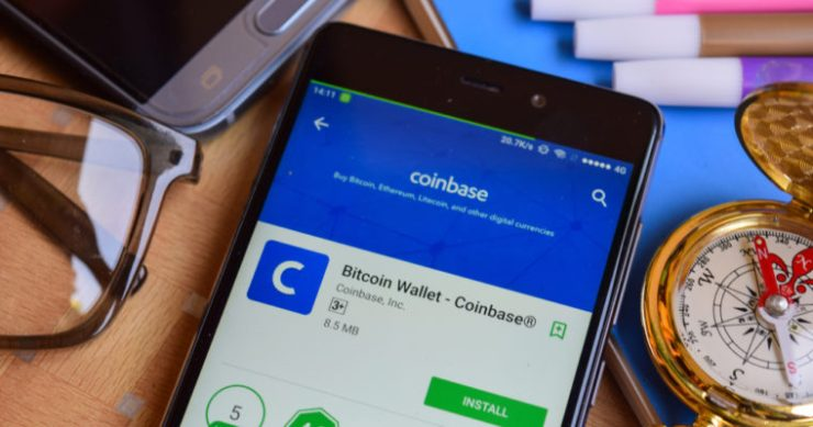 cryptocurrency exchange coinbase app