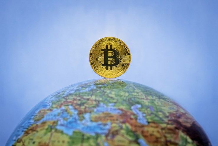 bitcoin globe map