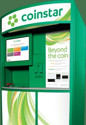coinstar change machine