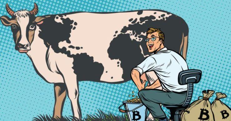 bitcoin inflation cash cow crypto market cap