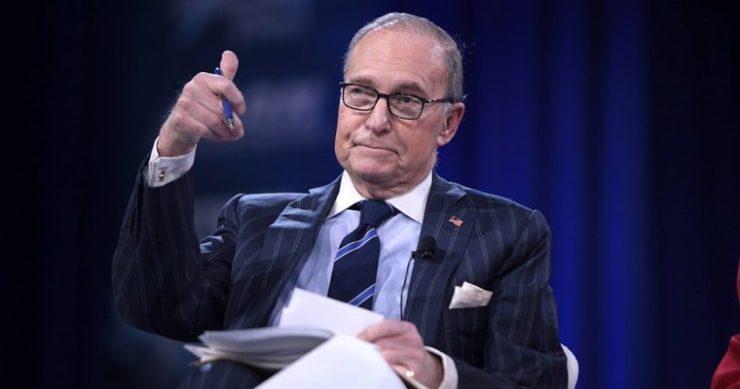 Larry Kudlow White House Stock Market Dow Jones