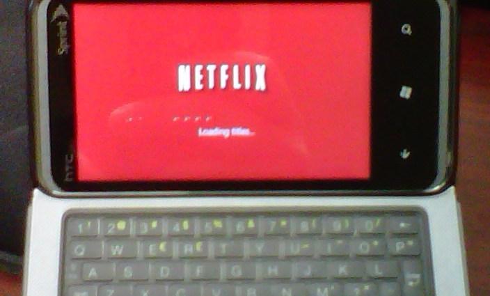 Netflix on the arrive