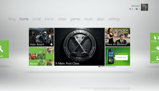 Microsoft to Debut New Xbox Dashboard This Fall