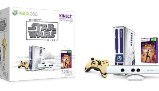 Microsoft to Release Special Edition Star Wars Xbox 360 with Kinect
