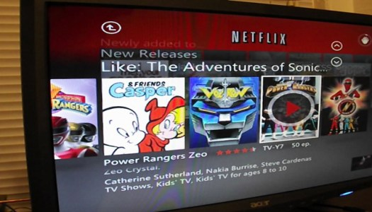 Video: Netflix for Xbox 360