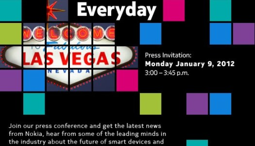 Nokia Sends Out Invitations to CES 2012 Press Event
