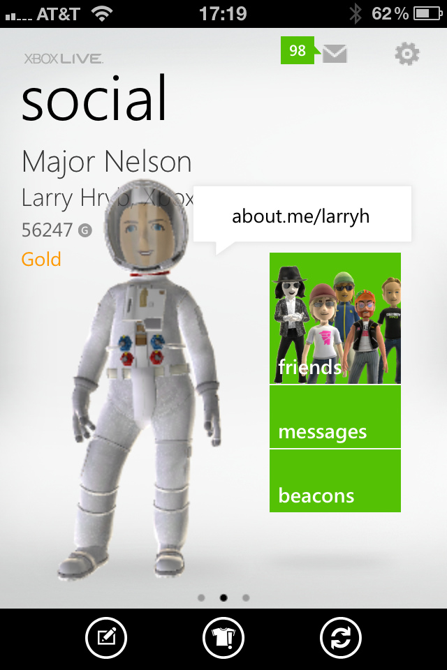 Xbox LIVE on iOS App Now Available @ The en: Gaming, gadget